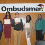 Ombudsman Chicago Graduates with Diplomas